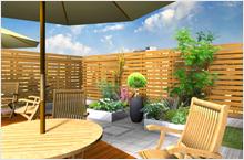 お庭の設計・お庭のデザイン