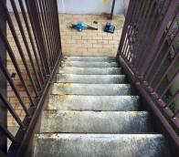 宮城県仙台市 共用部床防塵塗装工事の様子(2016年7月)