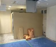 清田区北野のテナント改修工事の様子