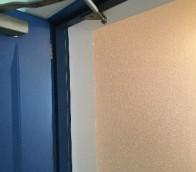 厚別区マンションの塗装工事の様子